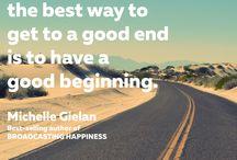 Broadcasting Happiness / Broadcasting Happiness by Michelle Gielan