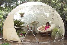 bamboo tent