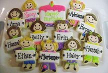 Cookies and royal icing