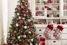 vánoce červené