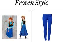 Frozen / The Frozen phenomenon definitely hit Polyvore. We're pinning the best Frozen sets out there.