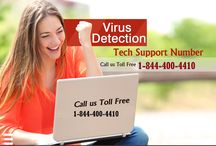 Virus  Removal Support Phone Number 1-844-400-4410