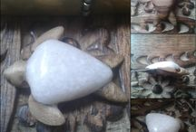 Wood & Stone jewelry. / Finished projects.