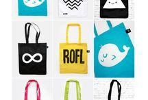 tees, bag design