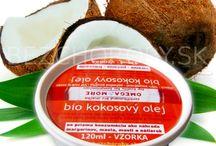 BIO Kokosové oleje / Bio kokosové oleje, lebo sú najzdravším tukom