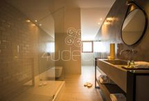 Casas de Banho - Microcimento / Microcimento aplicado em Casas de Banho. Veja mais em www.microcimento.pt
