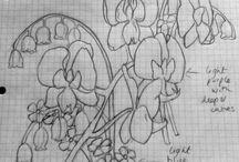 Orchids dress