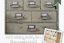 Ládák, dobozok és tárolók