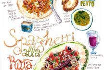 Food Drawings