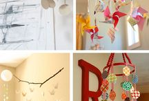 DIY - kid decor / by Jerica Tompkins