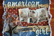 Scrapbooking!-Summer/4th of July