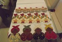 Patchwork / Craft / Handmade / by Jacqueline Hamine