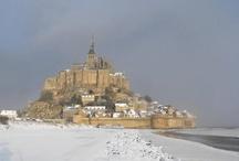Le Mont Saint-Michel en hiver
