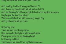 songs lyrics
