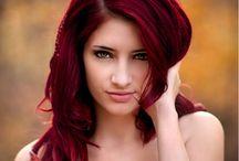 Potentielle Haarfarben