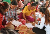 Oxfam C-BED Trainings among rural youth