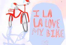 Bike + Letters