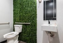 Restroom Designs / Some fun, unique and classy restroom designs by Arminco Inc