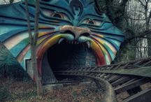 Abandoned places and architecture