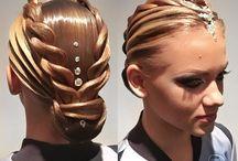 hair for ballroom