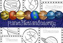 Bolygók negyedik evfolyam