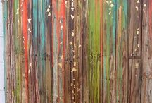 Acrylic & oil paintings