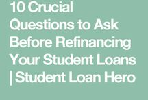 Student Loan Hacks / Student loans take years to pay off. But you can pay down your student debt faster with some simple hacks.