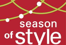 Season of Style / Window Treatments for the Holidays!