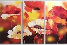 pinturas al oleo sobre texturas