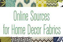 Fabrics & Pillows
