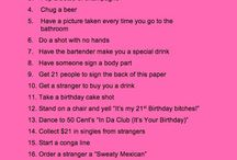 21 To Do List Birthday Fun