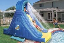 Pool slides / pools