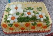 torta decorada salgada