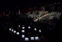 Camerata UNAB - Música de películas bajo las estrellas - 05-11-2015 / El concierto se realizó en Casona antigua, segundo piso, Santiago