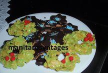 Μπισκότα Χριστουγενιάτικα