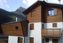 Residence montano a Carona (BG) / Appartamenti in legno in stile montano https://www.marlegno.it