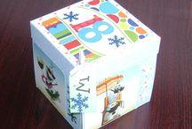 Exploding Box (for sale) / prezenty