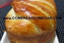 receita de pão