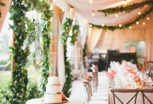 Marquee Reception Decor