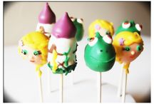 Tangled cake pops by SUSYPOPS  / Characters from the movie Tangled #Disney #movie #Cake #Cakepops