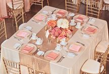 Gold and blush wedding theme (Riikka)