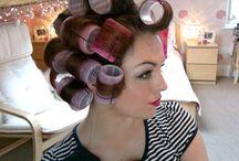hair and make up / by Kara Eason