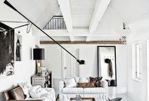 Black and white interiors / Black and white interiors