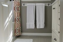 Cabin- bathrooms / by Carrie