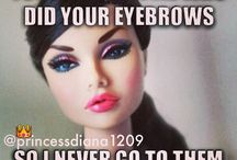 fake...(people,eyebrows  and more)