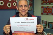 Dreamtime Kullilla-Art Certificates / Thanks to Yinhawangka Aboriginal Corporation for the Certificate of Appreciation - glad we could contribute to your Paraburdoo NAIDOC Day Celebrations this year