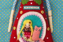 куколки текстиль