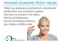 Banking Online / půjčky, aukční portál, p2p, p2p lending, intestice