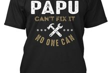 PAPU TEES / Gift ideas for Papu! Tees, Hoodies and Long-sleeves available in the style and color of your choice! By Cido Lopez