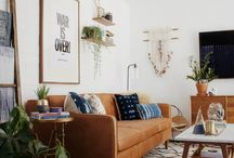 modern bohemian living room / Inspired design for amazing rooms that feel like a sanctuary.